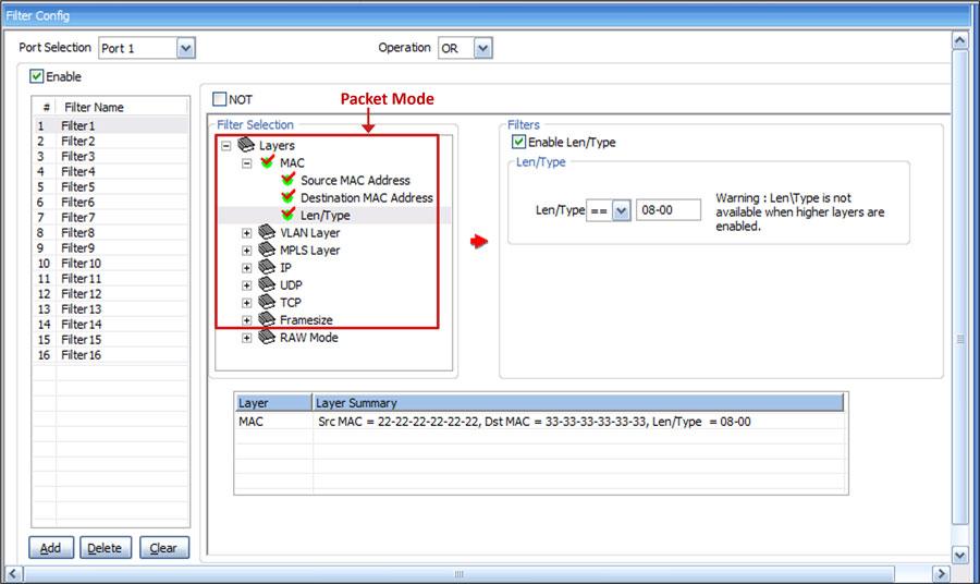 Wire speed packet filter and capture on 10 gbps ethernet networks newsletter - Wireshark filter destination port ...