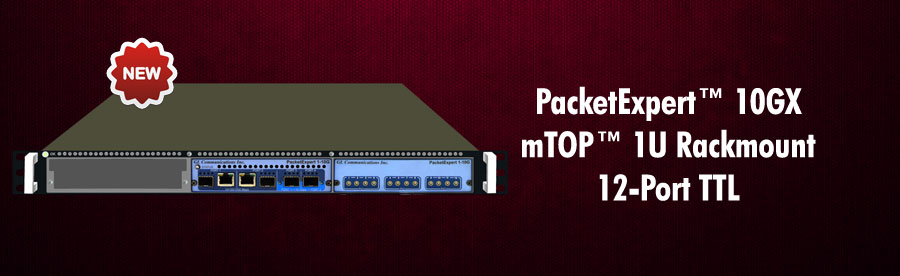 PacketExpert™ - Multi-Functional Ethernet Test Solution