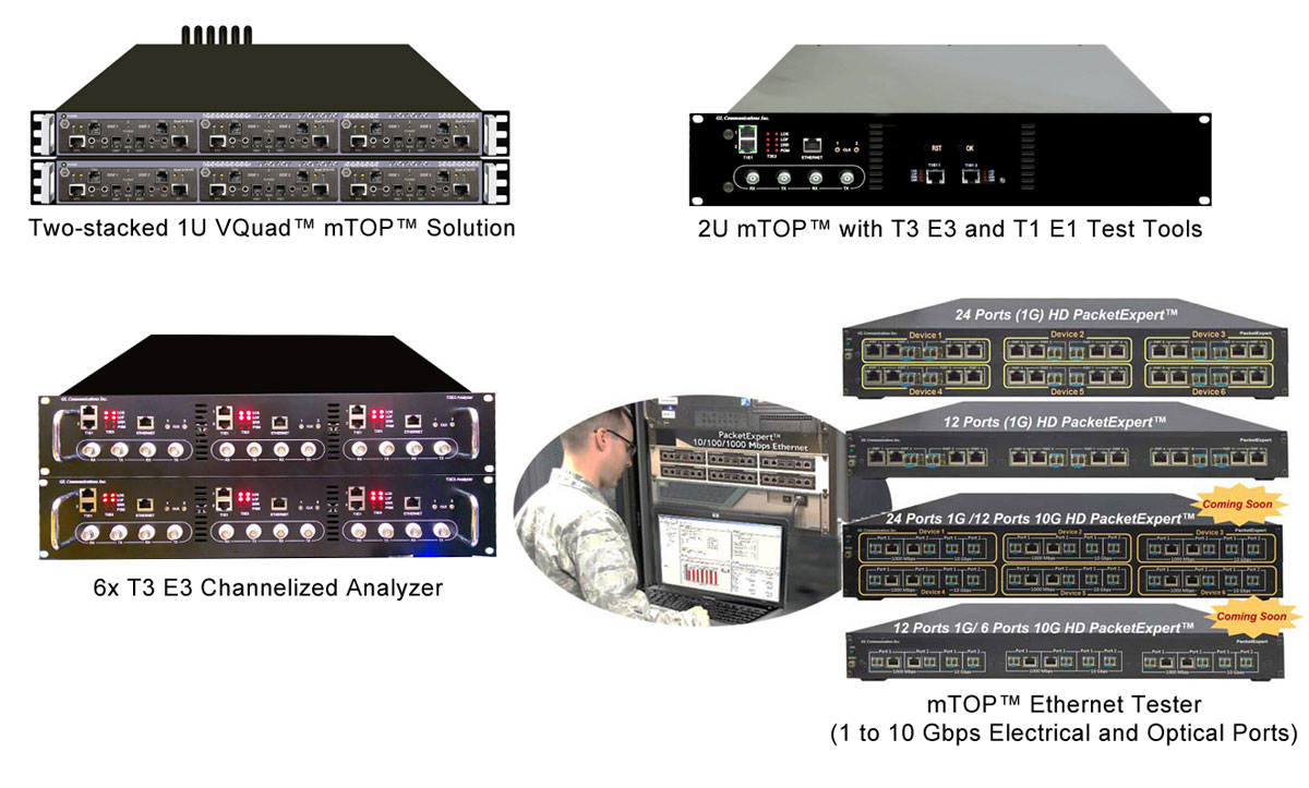 GL Announces TDM, Optical and Packet Integrated Platform for