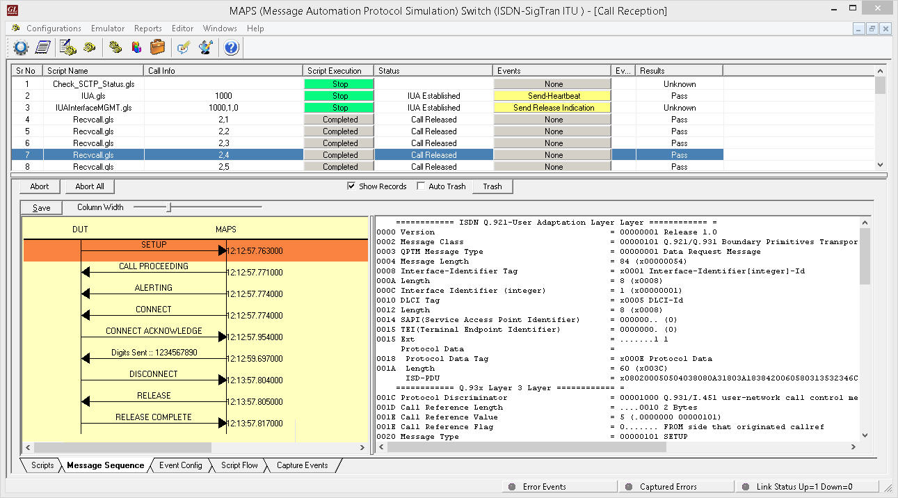 Call Center Test Simulations