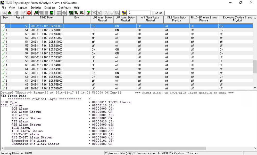 T3 E3 Analyzer - Test High Speed WAN Services (T3, E3, DS3)