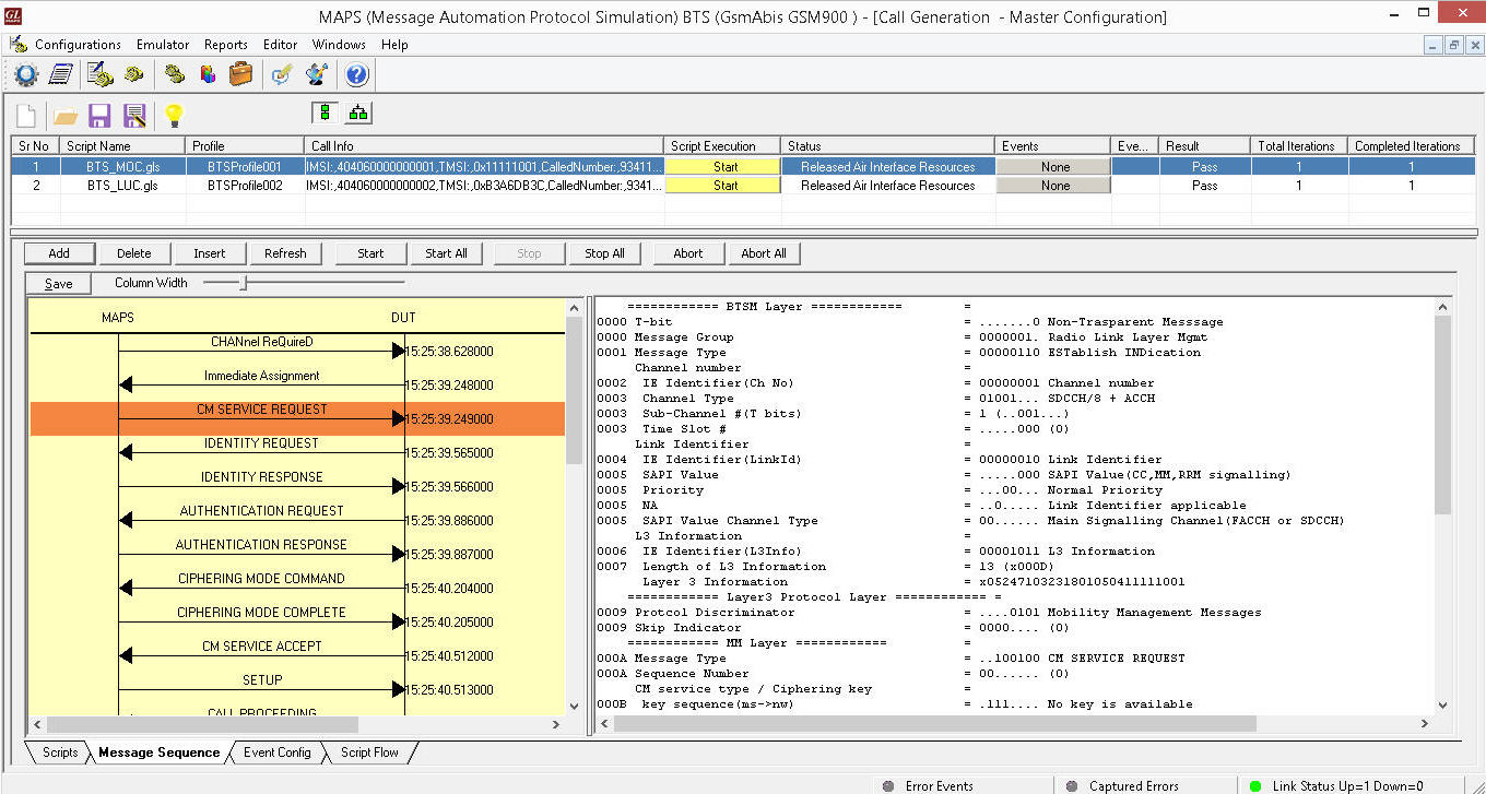 Traffic Simulation across IP, TDM, and Wireless Networks